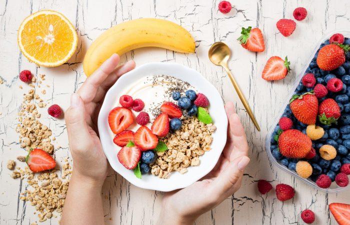 Combata o estresse com uma boa alimentação